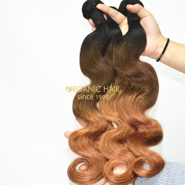 Ombre remy human hair extensions
