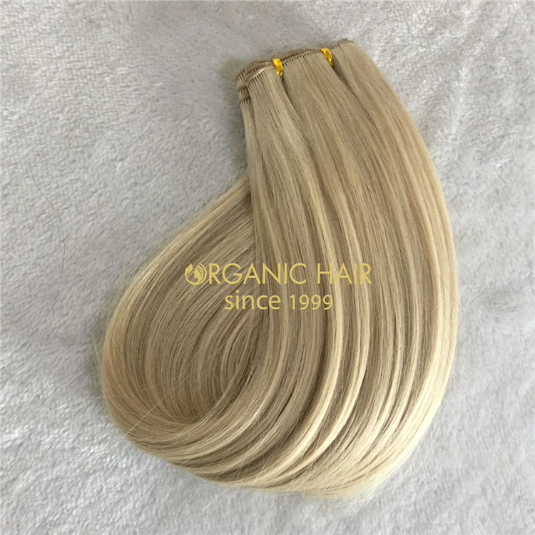 Customized hand tied wefts-with the best quality and affordable A177