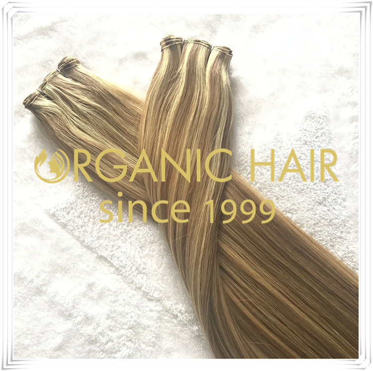Organic popular piano color hand tied weft C063