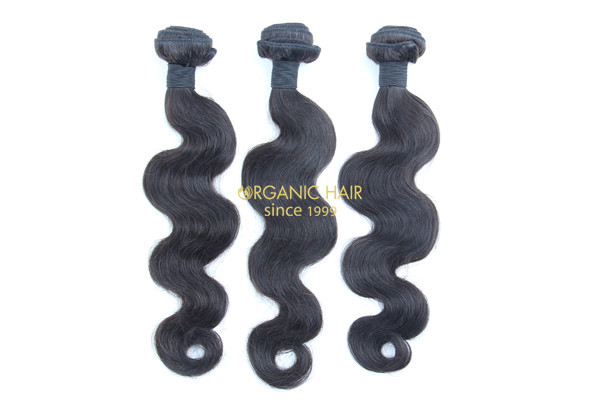 Premium virgin remy human hair extensions