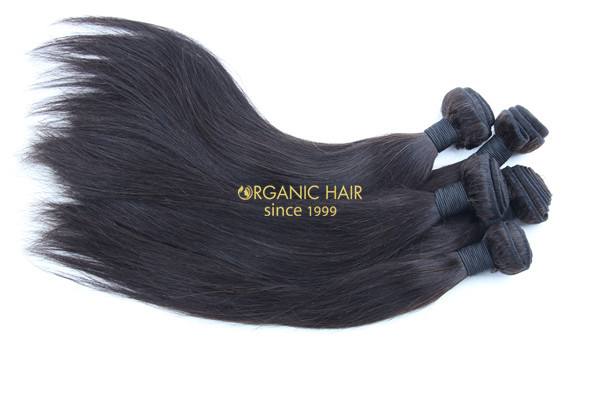 Raw indian remy hair extensions