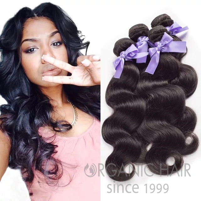 Real human hair extensions canada