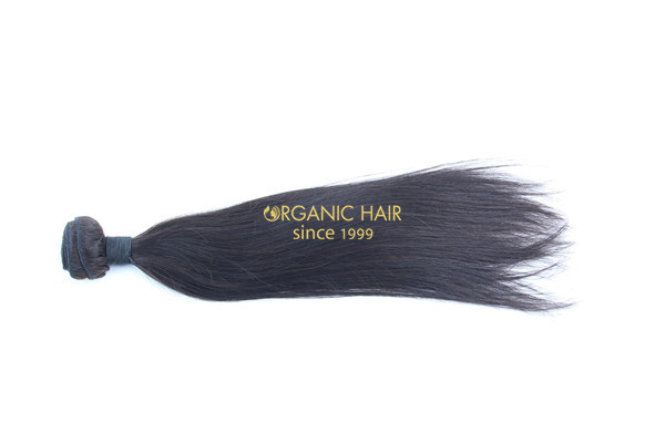 Real virgin remy human hair extensions