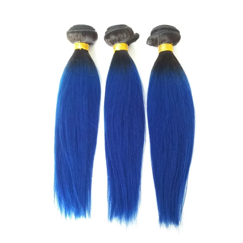 Remy human hair weave for short hair women