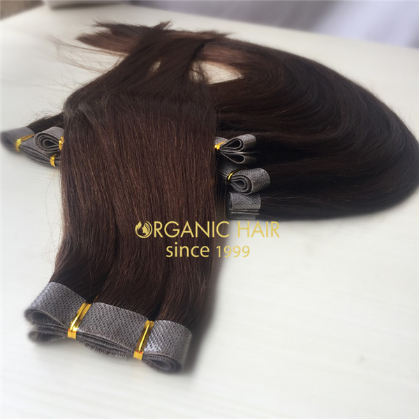 Tape extensions hair sisters skin weft extensions