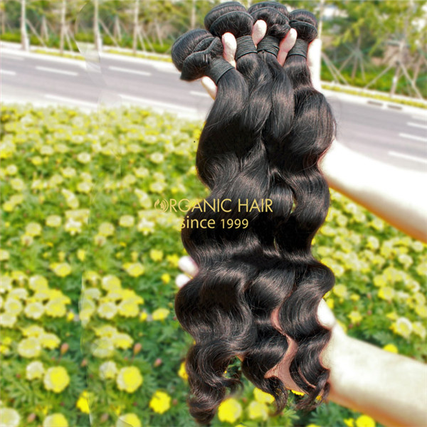 Raw unprocessed virgin indian human hair extensions