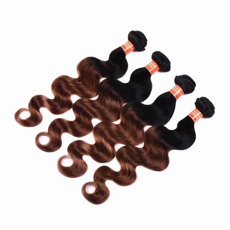 Virgin brazilian body wave hair weave