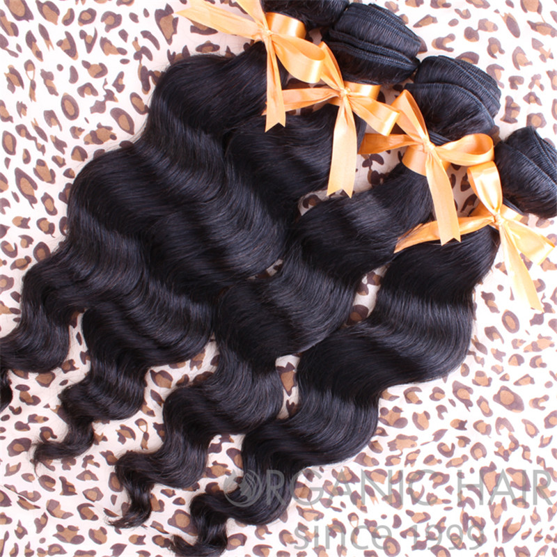 Virgin indian human hair extensions wholesale
