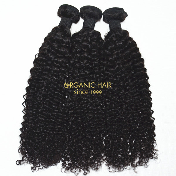 Virgin indian human hair weave