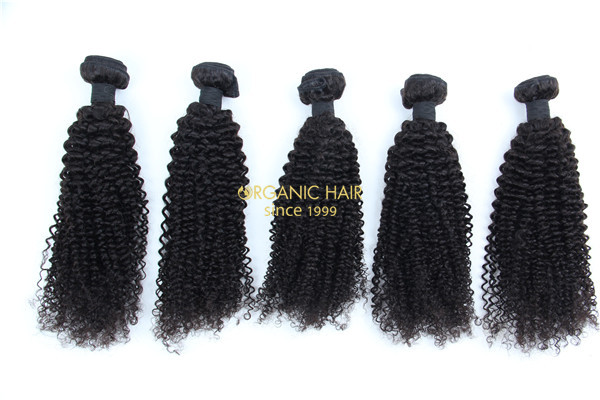 Virgin remy human hair extensions wholesale
