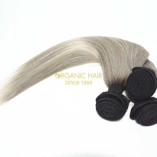 Virgin remy human hair weaves
