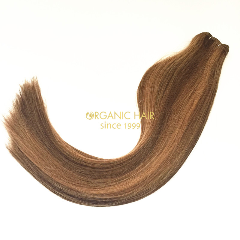 Wholesale Colored Indian human hair extension