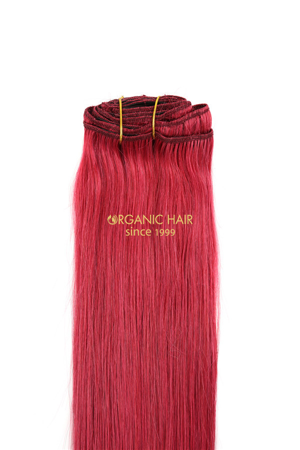 Wholesale colored clip in hair extensions perth
