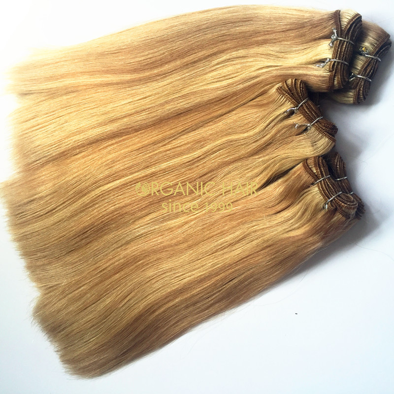 Wholesale colored lush hair extensions
