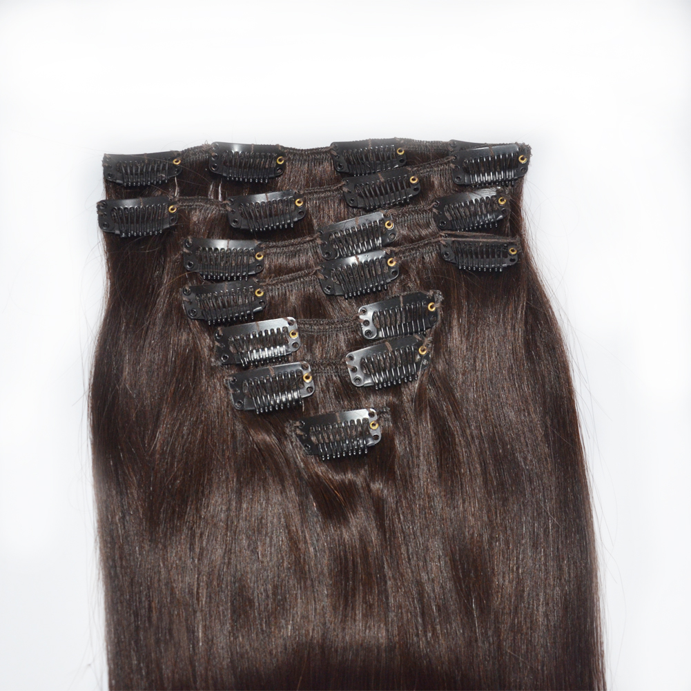 Wholesale euronext hair extensions hair clips for fine hair