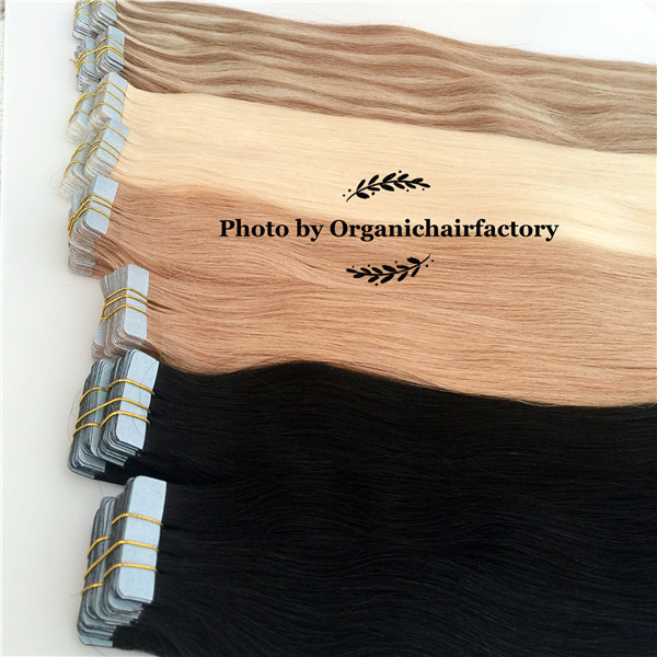Wholesale hair extension tape remy human hair suppliers