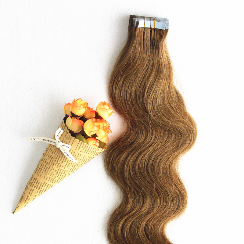 Wholesale peruvian tape in hair extensions