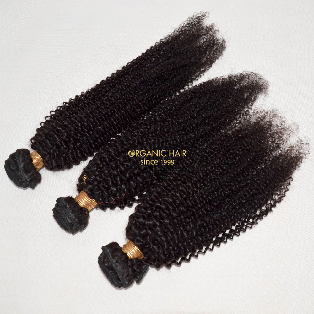 Wholesale real black human hair extensions