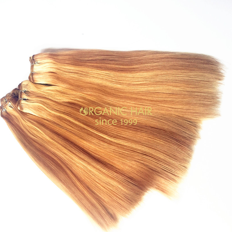 Wholesale real remi human hair weave