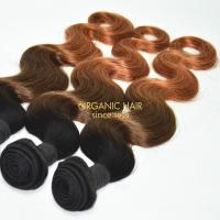 Wholesale remy human hair body wave hair weave