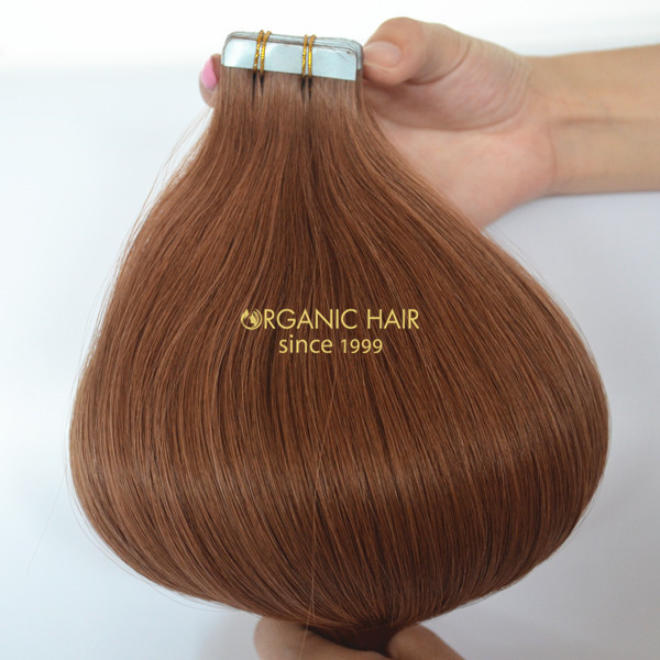Seamless hair extensions tape Hair Extensions supplier