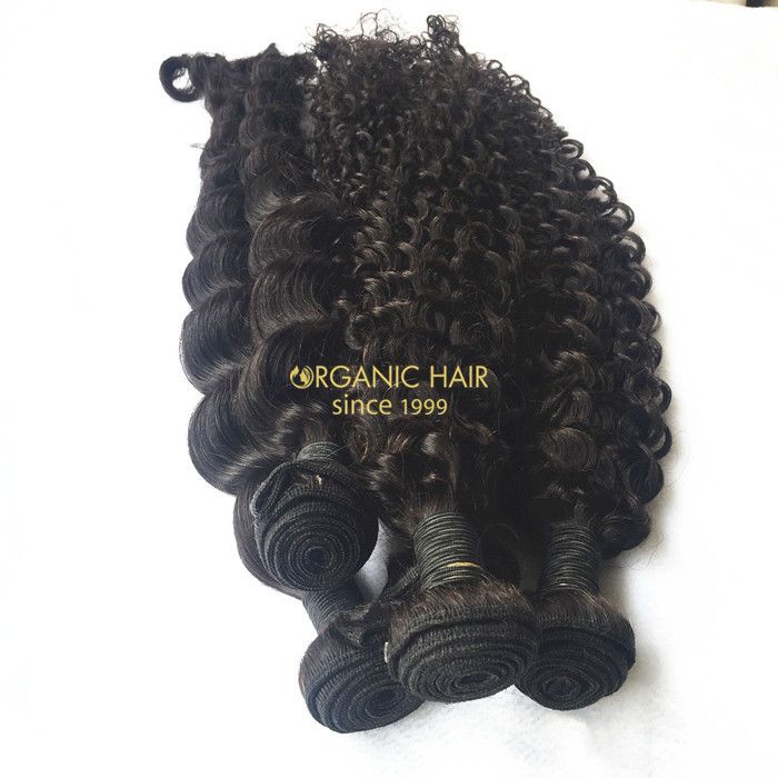 Wholesale virgin brazilian curly hairextensions