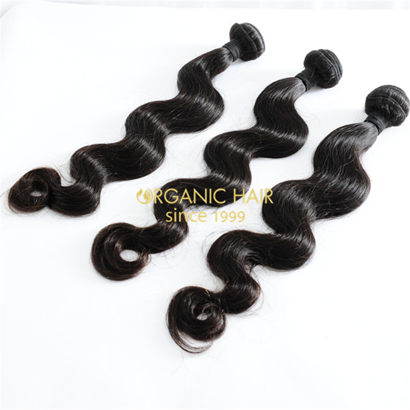 Wholesale virgin unprocessed human hair weave