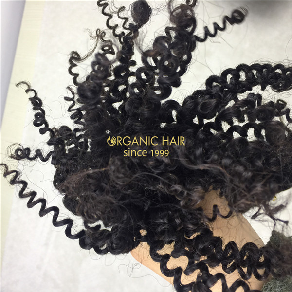 Afro kinky curly hair bundles wholesale