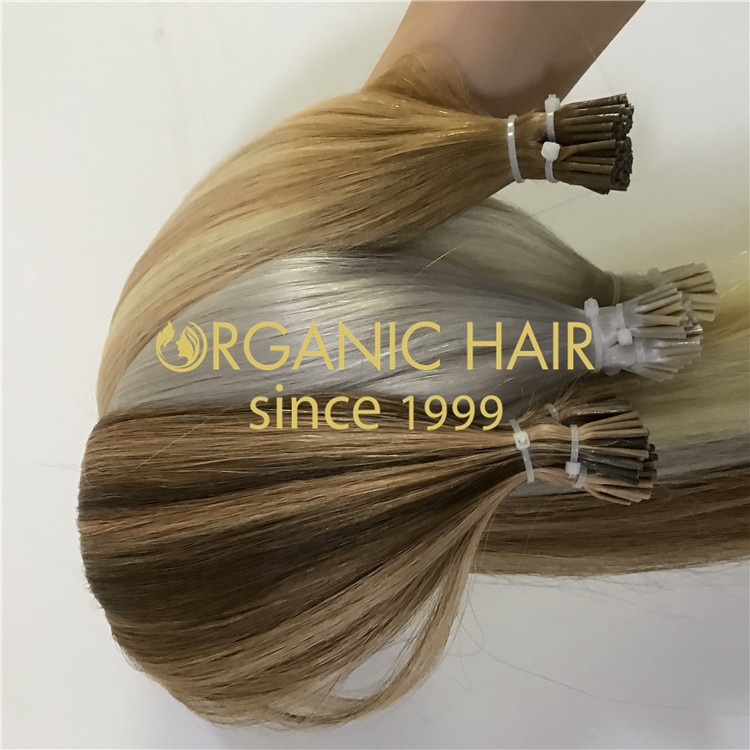 Ashy I Tip Hair Extensions H305