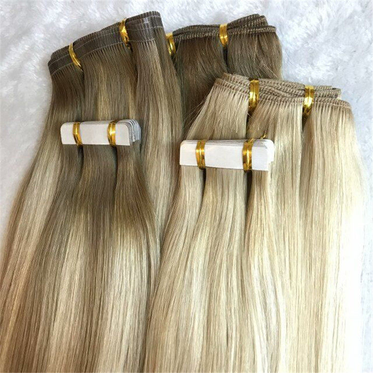 All the amazing balayage colors come from hand tied weft, tape ins and machine weft H77