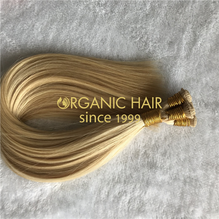 NATURAL BEADED ROWS HAND TIED WEFTS EXTENSIONS H182