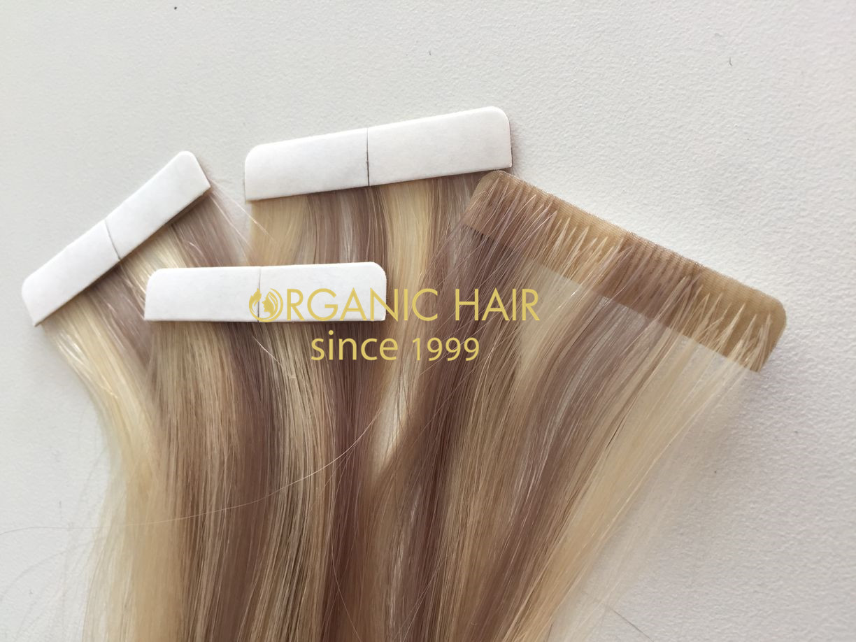 Skin Weft Hair Extensions 100% Remy Hair Wholesale From Organic Hair In China R7