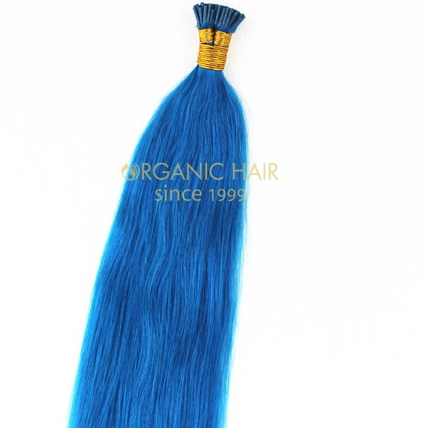 Pre Bonded Hair Extension Keratin Human Hair Extension Itip Safe