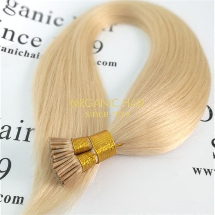 Wholesale best human itip hair extension 2g/strands #60color X45