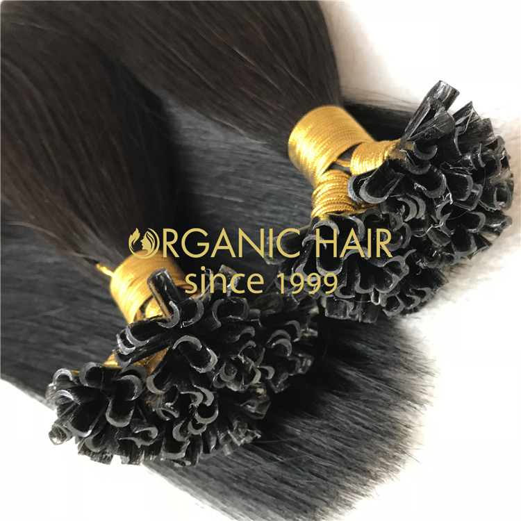 Hair extensions to order--The U tip hair extensions C4