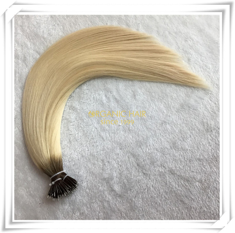 Nano ring pre bonded best quality hair extensions CNY035