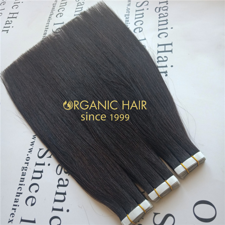 Black tape in hair extension with high quality and cheap price A105