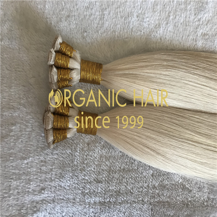 BLONDE HAND TIED WEFTS are available for pre-order H146