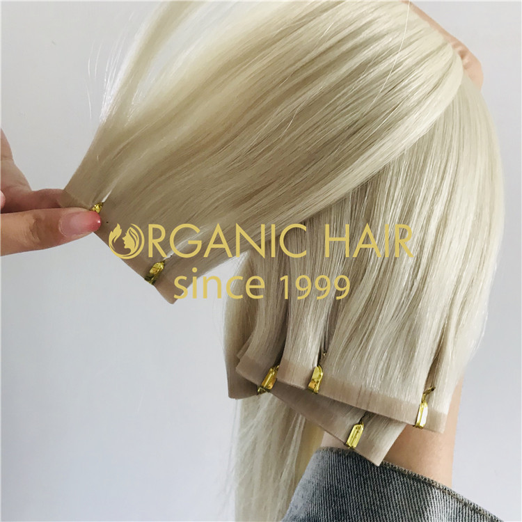 blonde beaded weft extension manufacturer  H273