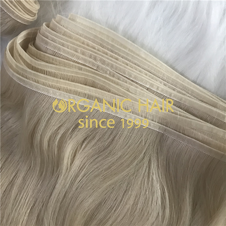 High Quality Flat Weft Hair Extensions on sale H300