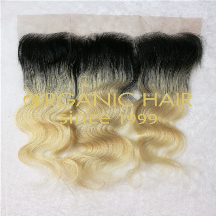 1b Colored Body Wave lace frontal at a wholesale price