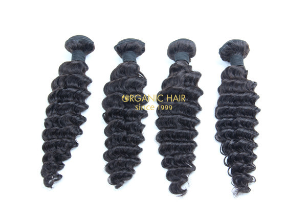 Cheap brazilian deep wave hair extensions for short hair