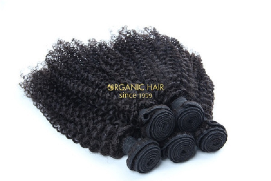 Human hair extension, virgin hair, curly wave, Brazilian human hair, 100% unprocessed,8-30 inch  Gt03