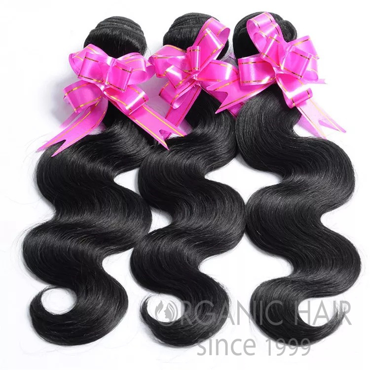 Wholesale virgin brazilian body wave human hair extension