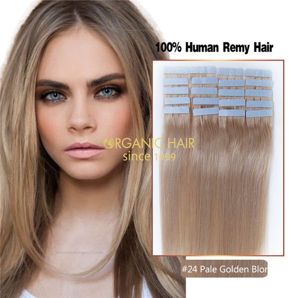 Brown Hair Extensions Invisible Tape Hair Extensions China Oem