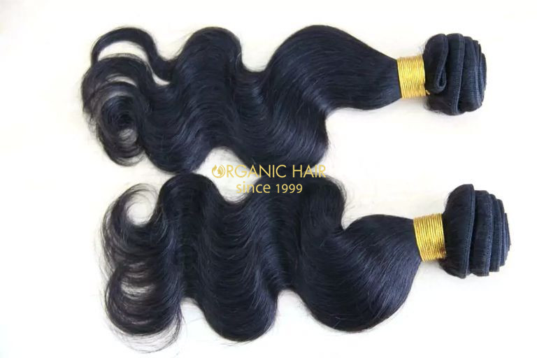 Natural color brazilian hair weave 10 inch hair extensions
