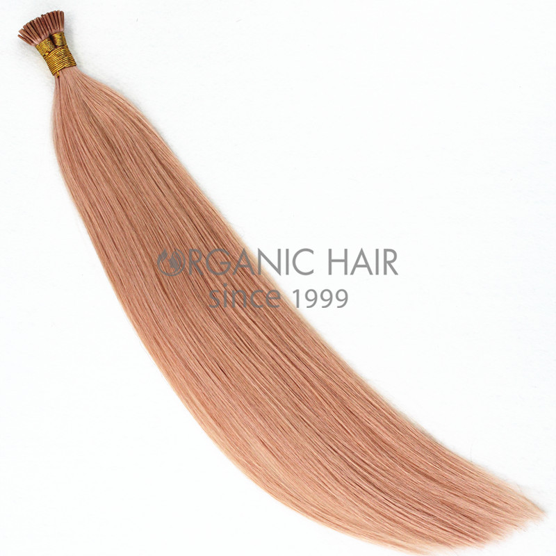 Stick tip hair extensions pink hair extensions