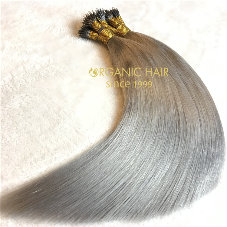 Hair extensions to order-- nano ring hair extensions C9