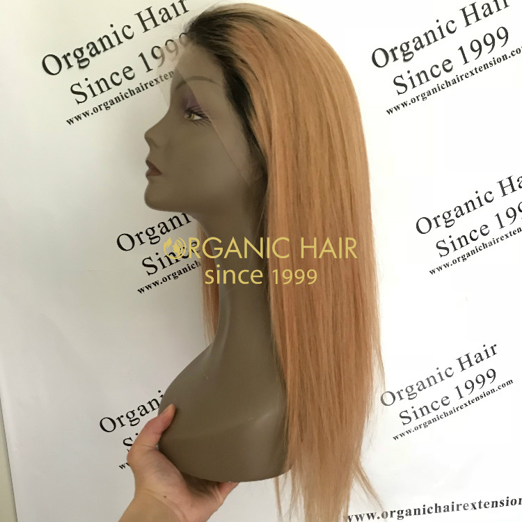 Why choose our Organic full lace wig-Champagne wig GT31