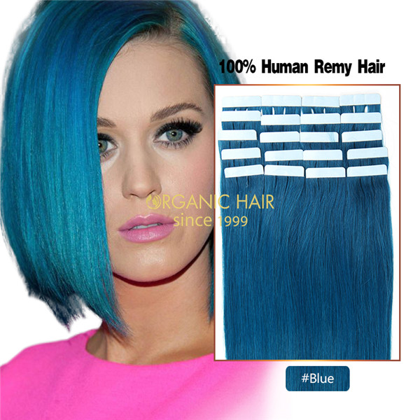 Tape in hair extensions china wholesale tape in hair extensions cheap blue hair extensions before and after pmusecretfo Image collections